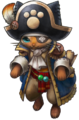 MHXR-Captain Meowgan Render 001