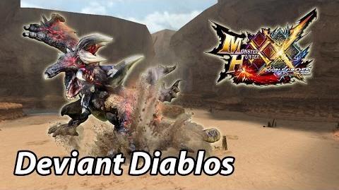 MHXX G1 First encounter with Massacre Demon Diablos