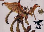 MHFG-Berukyurosu Concept Art 001