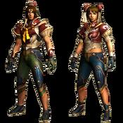 MHGU-Chaos Armor (Both) Render