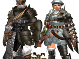 MHFU: Low Rank Gunner Armors