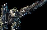 MHW-Gunlance Equipment Render 001