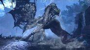 【MHWI】ラージャン VS 死を纏うヴァルハザク(縄張り争い)