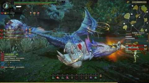 Monster Hunter Online MHO - Yian Garuga, One-Eared Garuga (Mentor hunt)