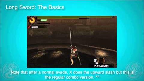 MH4G MH4U Long Sword Tutorial