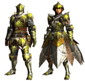 MHGU-Rathian Armor (Blademaster) Render