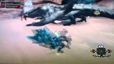 Monster Hunter 3 Tri Online Arena Ice and Fire