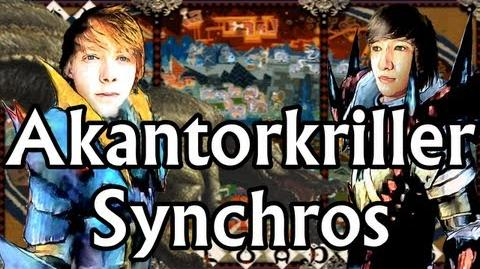 Akantorkriller Synchros Monster Hunter Portable 3rd - Sitz des Terrordrachens