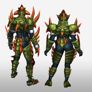 FrontierGen-Divol Armor 008 (Both) (Back) Render