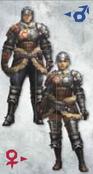 MH3U Hunters Armor (Blade)