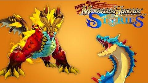 Monster Hunter Stories - All HD Monsties Animated Showcase モンスターハンター ストーリーズ モンスター