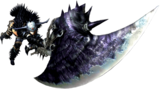 MH4U-Great Sword Equipment Render 001