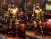 MH4U-Leather Armor (Both) Render 001