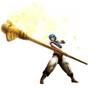 MH4G-Insect Glaive Equipment Render 001