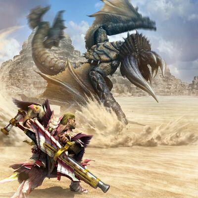 MHGU-Bloodbath Diablos Artwork 002