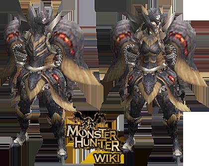 Lava X Armor Gun Monster Hunter Wiki Fandom