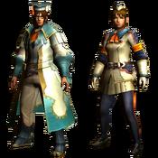 MHGU-Scholarly Armor (Both) Render