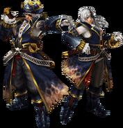 FrontierGen-Pirata Armor (Both) Render 2