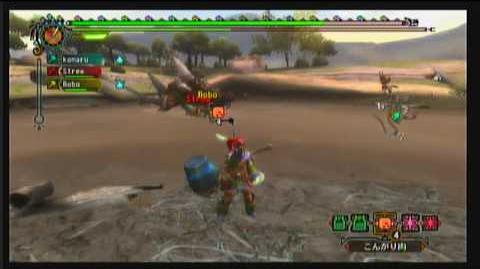 【Wii】 MH3 - 街★4 - ボルボロスの狩猟せよ 1 2