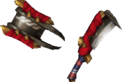 MHP3-Sword and Shield Render 001