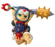 Capcom Figure Builder Palicoes Volume 3 Arzuros Cat
