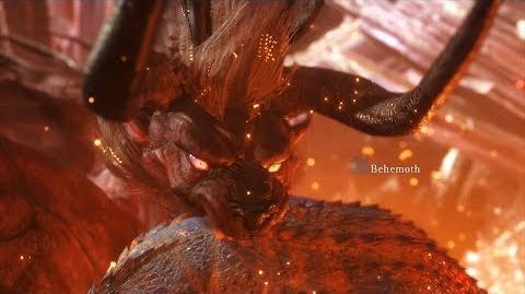 Monster Hunter World First Behemoth Encounter with Cutscene