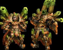 FrontierGen-Gurea Armor (Blademaster) Render 2