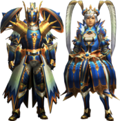 MH4-Star Rook Armor (Both) Render 001