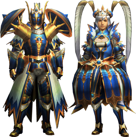 File:MH4-Star Rook Armor (Both) Render 001.png