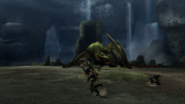 MHP3-Green Nargacuga Screenshot 002