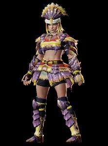 MHO-Caeserber Armor (Blademaster) (Female) Render 001