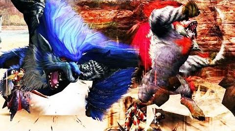 【MHF-G】赤闘獣『ロロ・ゴウガルフ』青闘獣『レイ・ゴウガルフ』討伐【G級牙獣種(GHC)】 フルHD