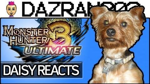 DAISY REACTS - Monster Hunter 3 Ultimate Intro