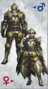 MH3U Rathian Armor (Blade)