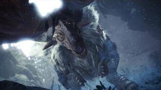 Monster Hunter World Iceborne - Banbaro Boss Fight (Solo Longsword)