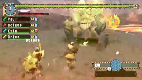 (Stream) Monster Hunter Freedom Unite - Fun with Gold Rajang