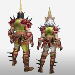 FrontierGen-Konga G Armor (Blademaster) (Back) Render