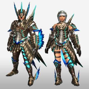 FrontierGen-Mitama G Armor (Gunner) (Front) Render