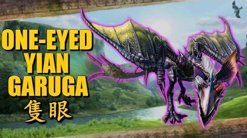 Monster Hunter Generations (X) The Deadeye Yian Garuga 隻眼イャンガルルガ