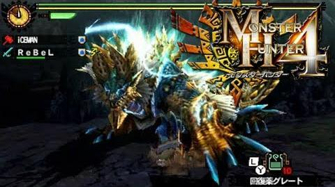 Monster Hunter 4 Nubcakes 21 - Zinogre English commentary online gameplay
