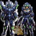 MH3U Brachydios Armor Blade.