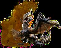 MHGU-Bloodbath Diablos Render 001