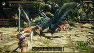 MHO-Azure Rathalos Screenshot 009
