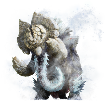 MHGU-Elderfrost Gammoth Render 001