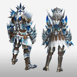 FrontierGen-Altera Armor (Blademaster) (Back) Render