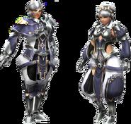 FrontierGen-Wansu Armor (Both) Render 2