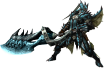 MH3U-Great Sword Equipment Render 001