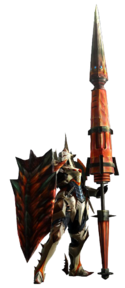 MH4-Gunlance Equipment Render 001