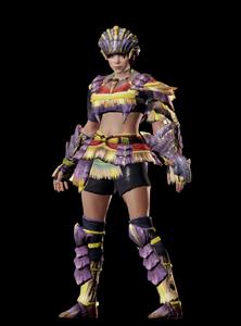 MHO-Caeserber Armor (Gunner) (Female) Render 001