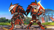 SSB4-Rathalos Armor Screenshot 002